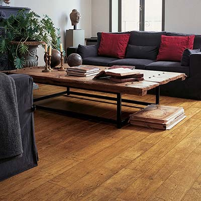 Quick-Step Perspective Harvest Oak Planks 4 Groove UF860 Laminate Flooring