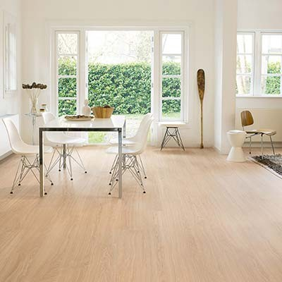 Quick-Step Eligna Wide Oak White Oiled Planks UW1538 Laminate Flooring