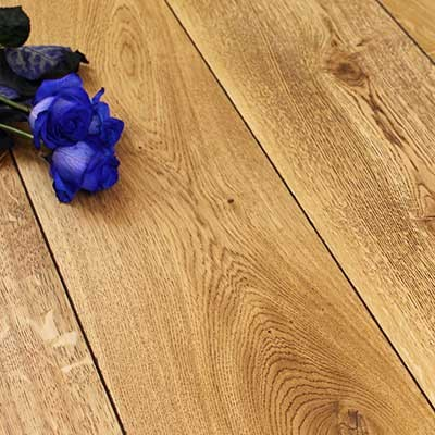 180mm Black Oiled Engineered Foxton Oak Wood Flooring 1.584m²