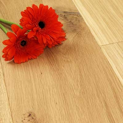 180mm Unfinished Engineered Foxton Oak Wood Flooring 1.584m²