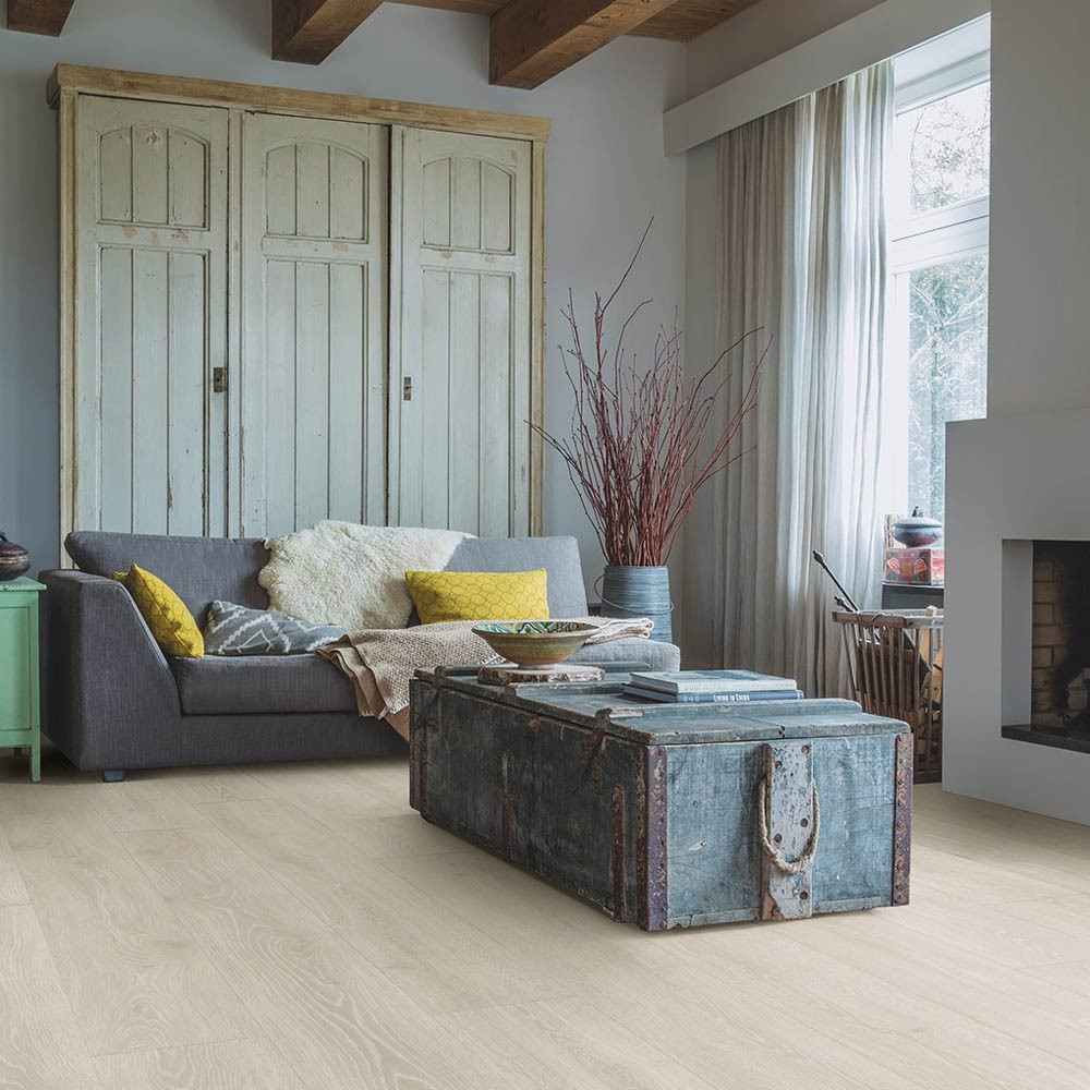 Quick-Step Majestic Woodland Oak Light Grey MJ3547 Laminate Flooring 2.952m²