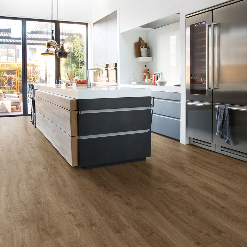 Quick Step Eligna Newcastle Oak Brown Planks El3582 Laminate Flooring 1