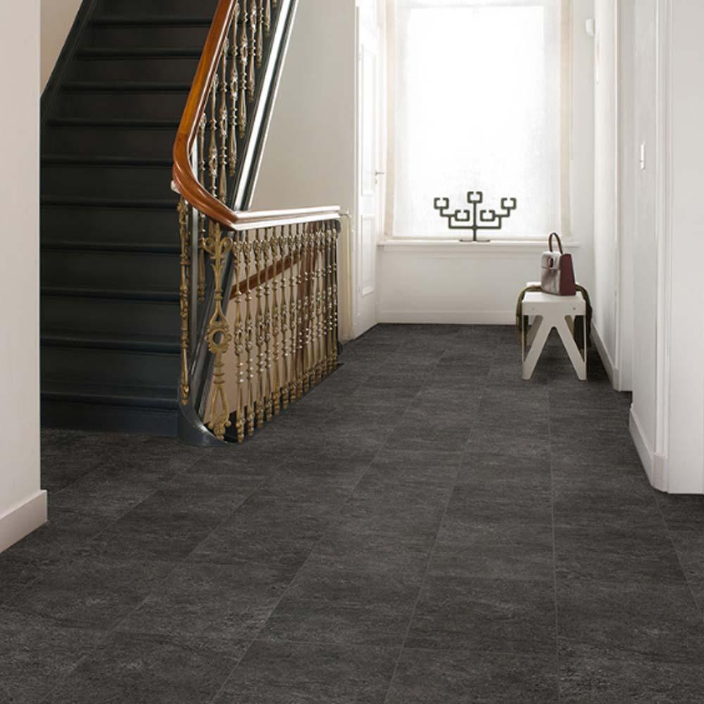 Quick step exquisa slate black exq1550 laminate flooring ex for Cheap quick step laminate flooring uk