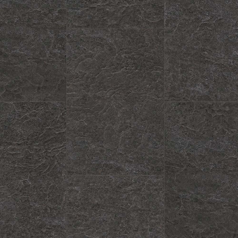 Black Slate Laminate Flooring : Quick step exquisa slate black galaxy exq laminate floor