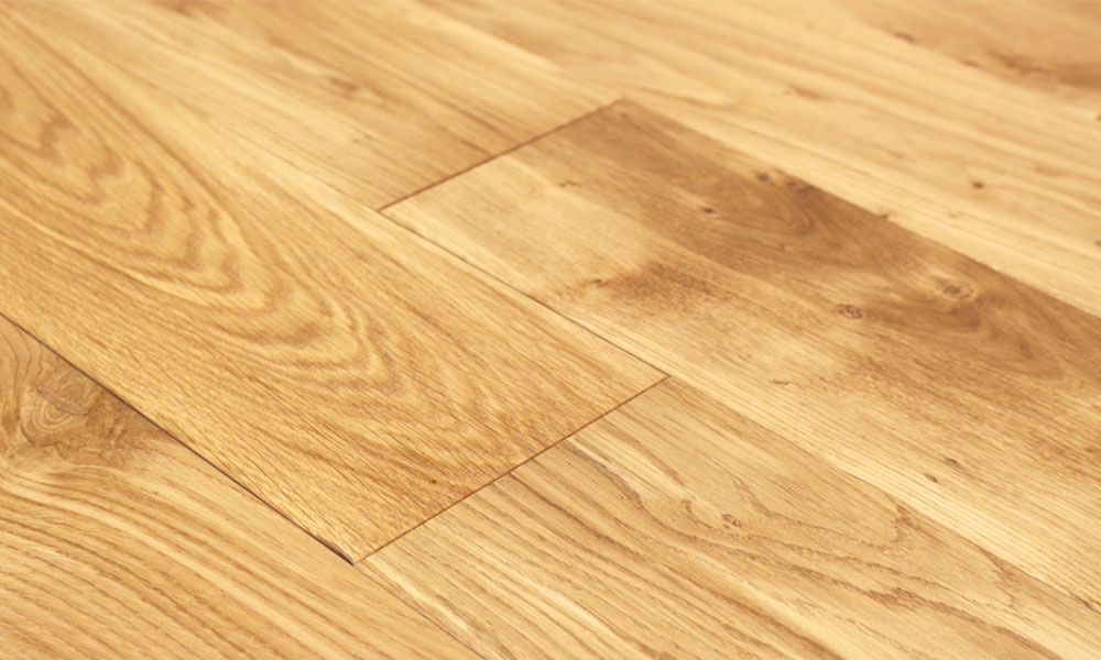 150mm Brushed Oiled Solid Oak Wood Flooring 198m2