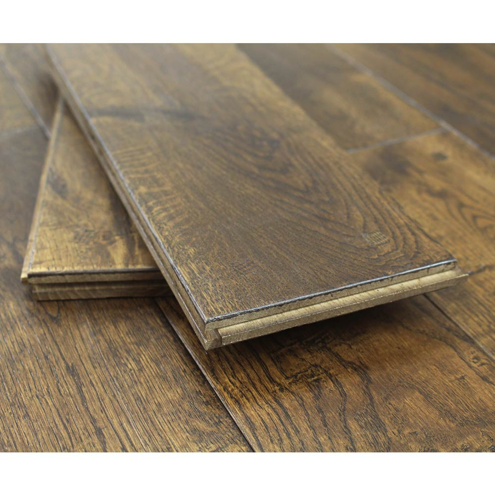 125mm lacquered antique square peg solid oak wood flooring 2 for Square wood flooring