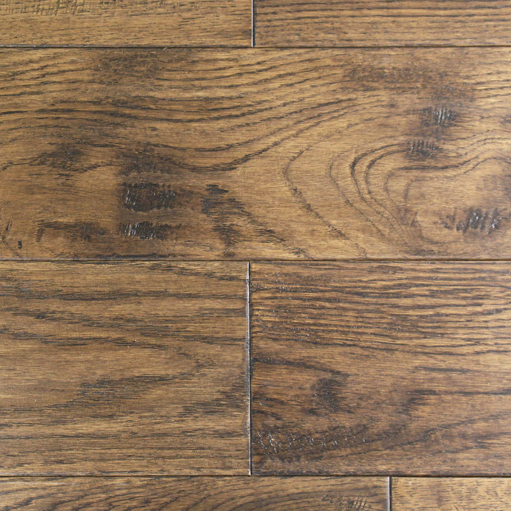 150mm Lacquered Antique Solid Oak Wood Flooring 1 98m 178 18mm