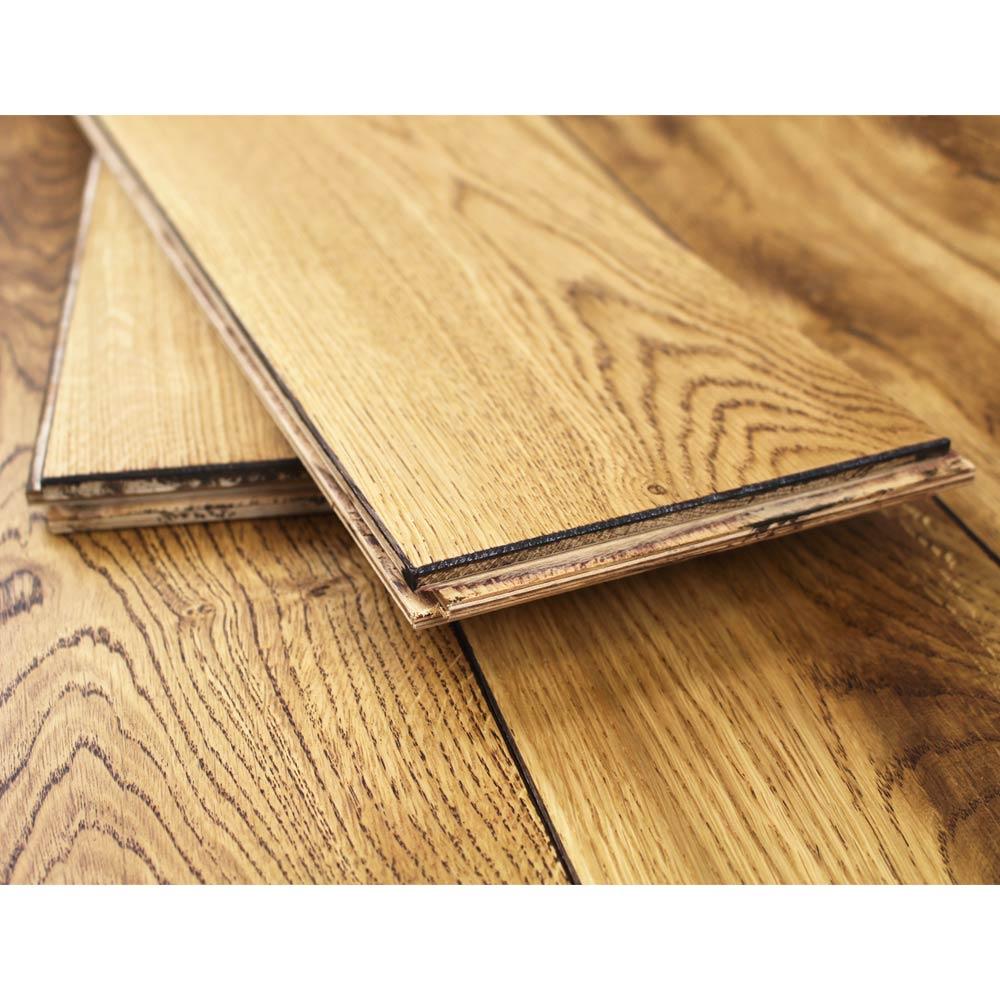 160mm Uv Oiled Engineered Black Stained Oak Wood Flooring 1