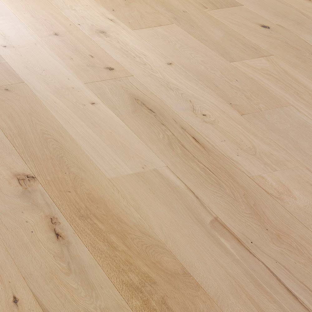 190mm unfinished engineered rustic oak wood flooring for Unfinished oak flooring