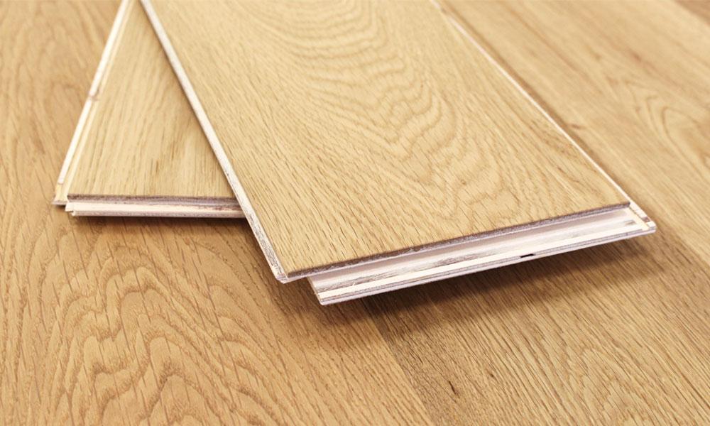 ... 150mm Brushed U0026 Oiled Engineered Charnwood Oak Click Wood Flooring  2.64m²   4 ...