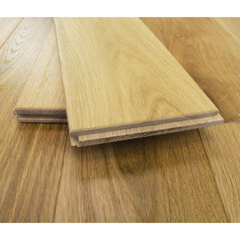 125mm brushed oiled solid charnwood oak 18mm wood flooring 2 2m² 2