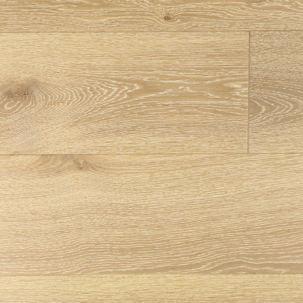 180mm Brushed Matt Lacquered Engineered Oak Antique White Click Wood Flooring 277m2