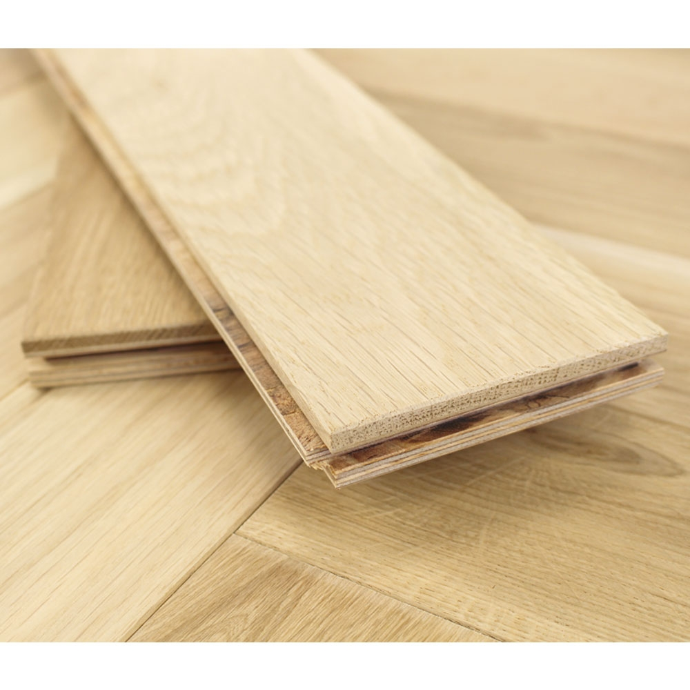 100mm unfinished engineered oak parquet block wood flooring for Unfinished wood flooring