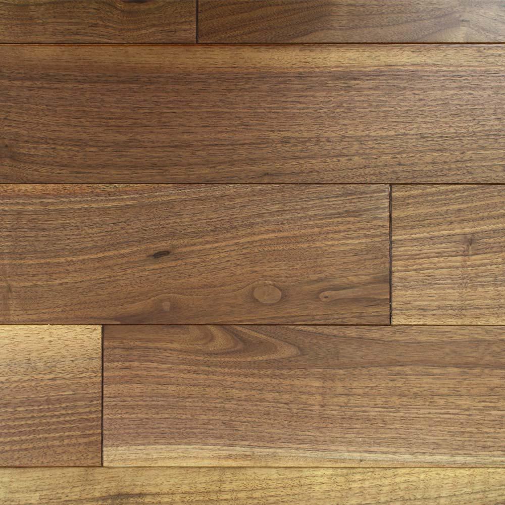 127mm matt lacquered engineered walnut wood flooring 2 23m²