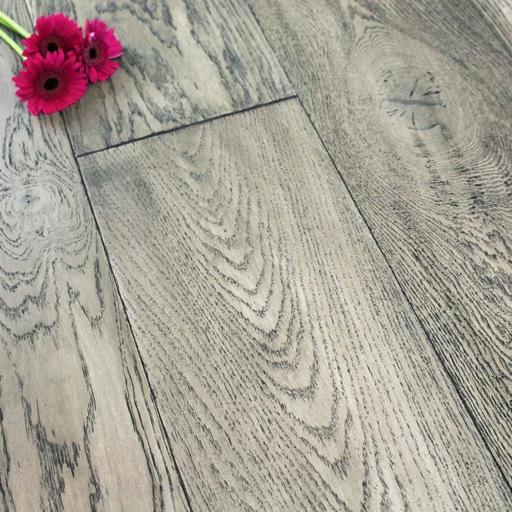 240mm Oiled Engineered Graphite Oak Wood Flooring 2 64m 178 Da