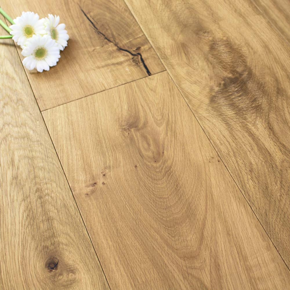 240mm Oiled Engineered Desert Oak Wood Flooring 2.64m²   1