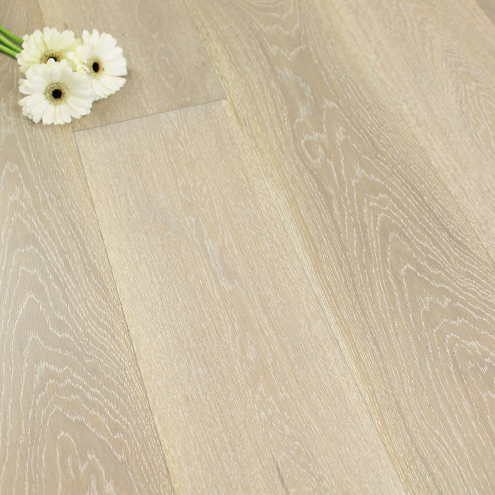 180mm Matt Lacquered Engineered Nordic Grey Oak Click Wood F
