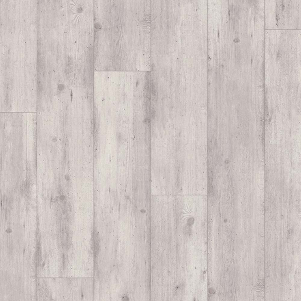 Quick step impressive ultra concrete wood light grey imu1861 for Light gray laminate wood flooring