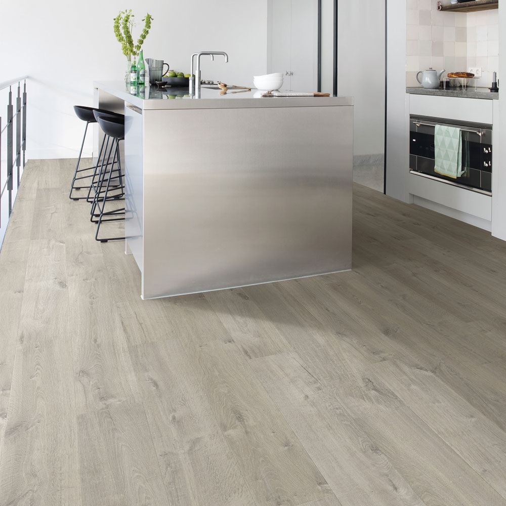 Quick-Step Impressive Soft Oak Grey Planks IM3558 Laminate F