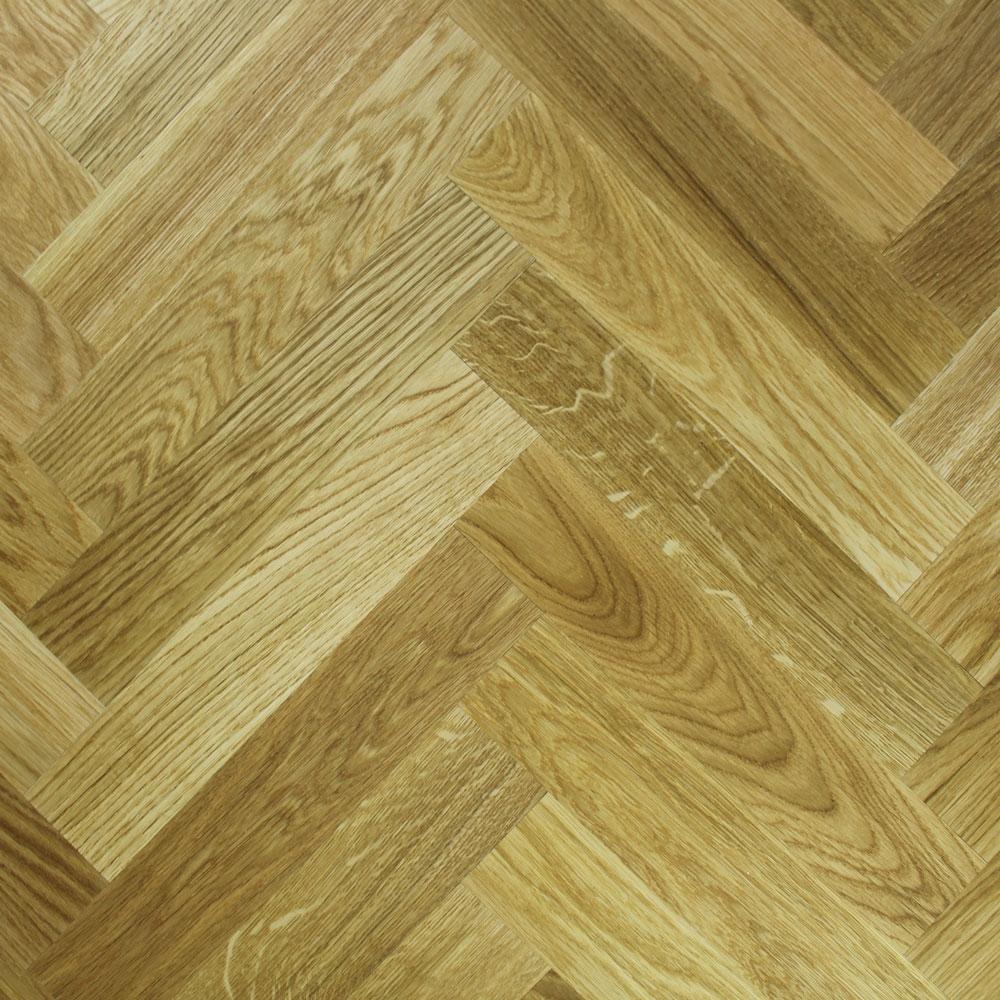 Engineered Rustic Oak Oiled Parquet Block Wood Flooring 1 47