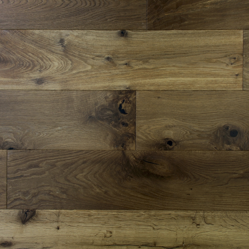 190mm Engineered Brushed And Uv Oiled Autumn Bronze Oak Wood