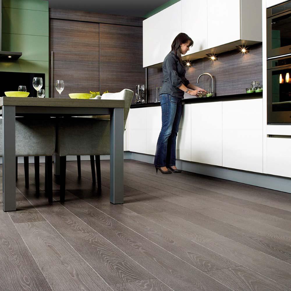 Quick step largo grey vintage oak planks lpu3986 laminate fl for Quick step laminate flooring uk