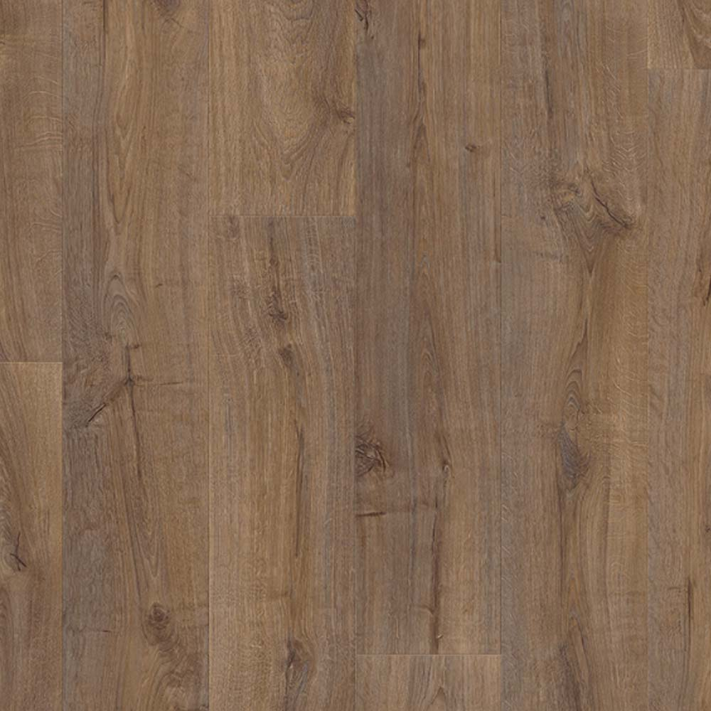 Quick step largo cambridge oak dark planks lpu1664 laminate for Quick step laminate flooring