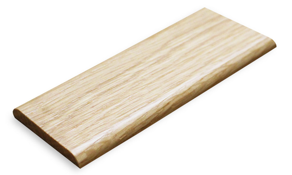 Oak Flat Threshold Door Bar 45mm Solid Oak Wood Trims Woo