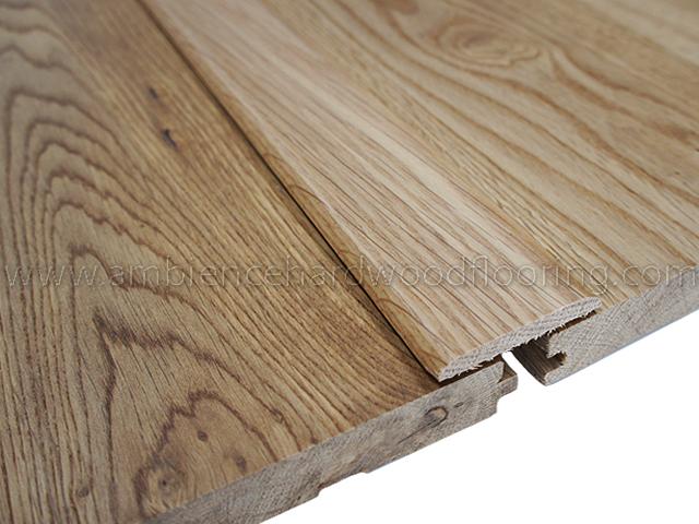 Oak Flat Threshold Door Bar 45mm Solid Oak Wood Trims Woo
