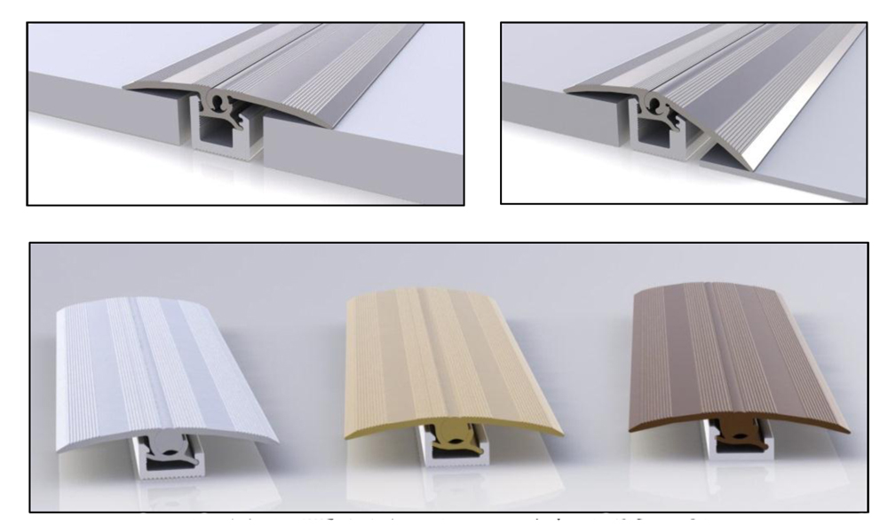 Quick Step Multi Functional Flooring Door Profile Metal T