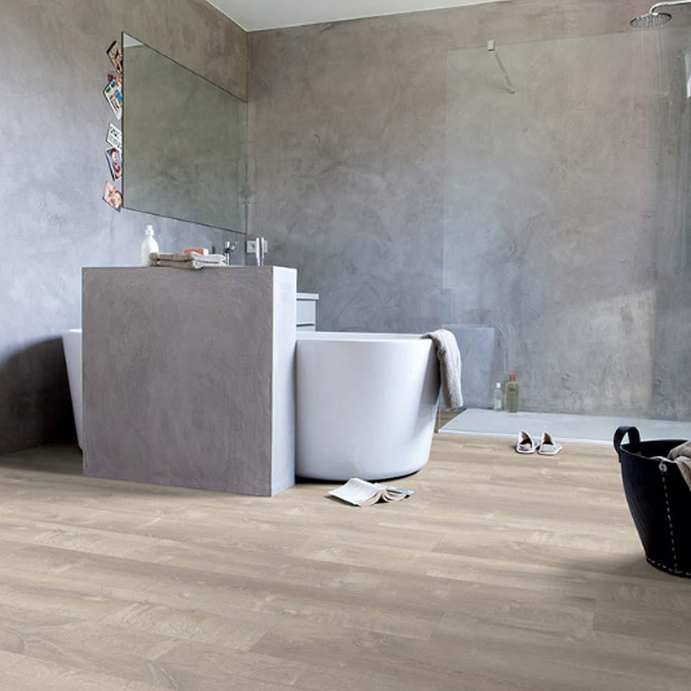 quick step livyn pulse click sand storm oak warm grey pucl40. Black Bedroom Furniture Sets. Home Design Ideas