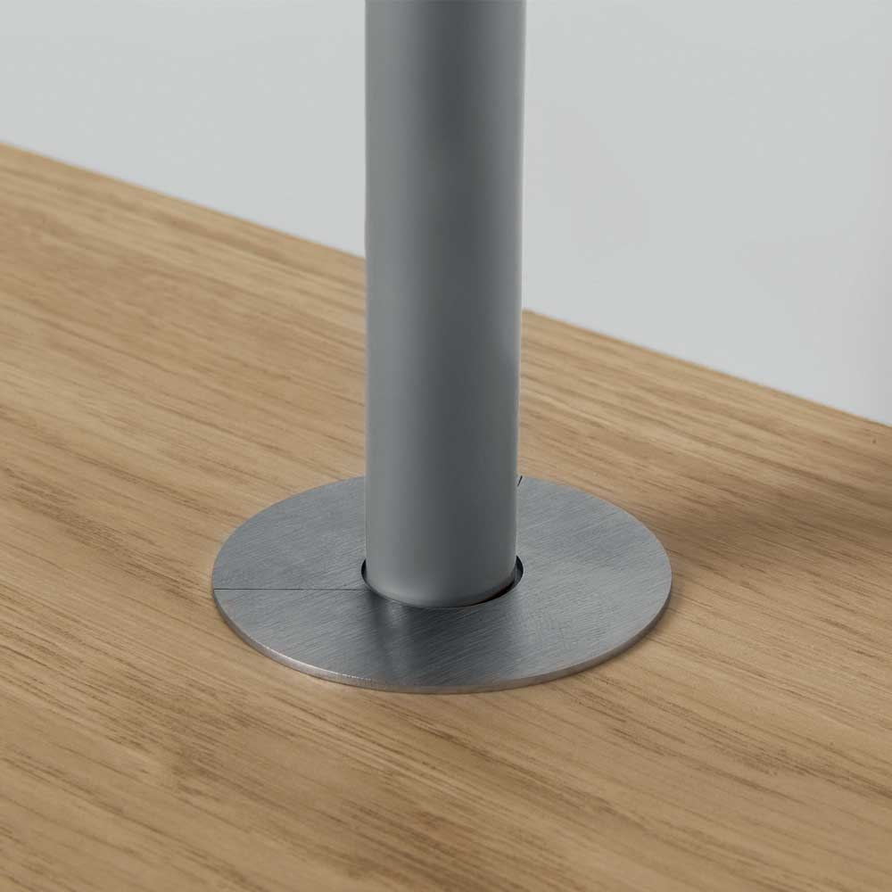 Quick Step Stainless Steel Radiator Pipe Cover 15mm Lamina