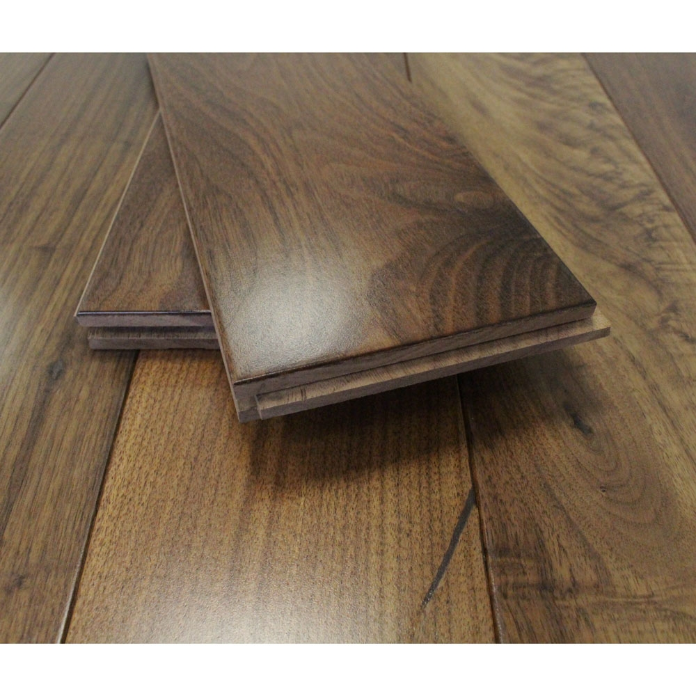 110mm Lacquered Solid American Walnut Wood Flooring 1 94m 178