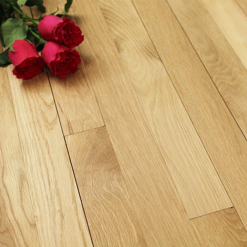 63mm unfinished prime solid oak wood flooring 20mm solid wo for Solid oak wood flooring