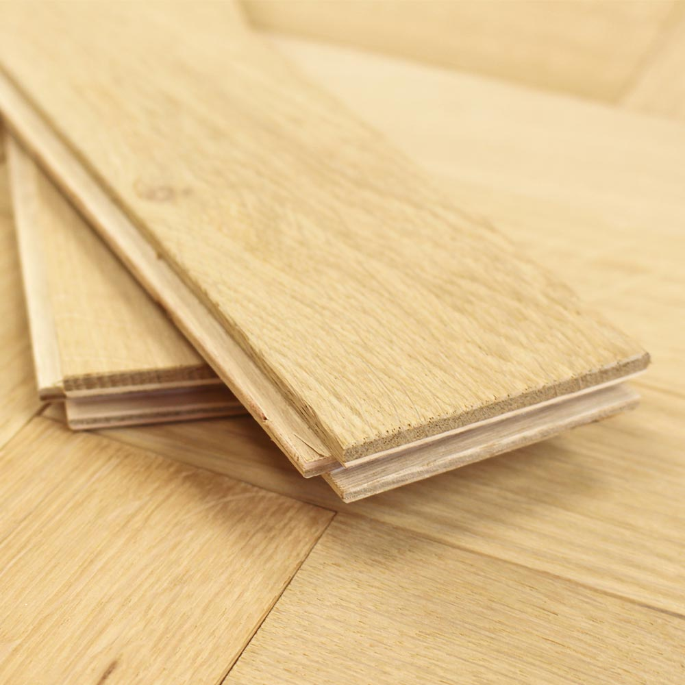 70mm unfinished engineered oak parquet block wood flooring 0 for Wood floor knocking block