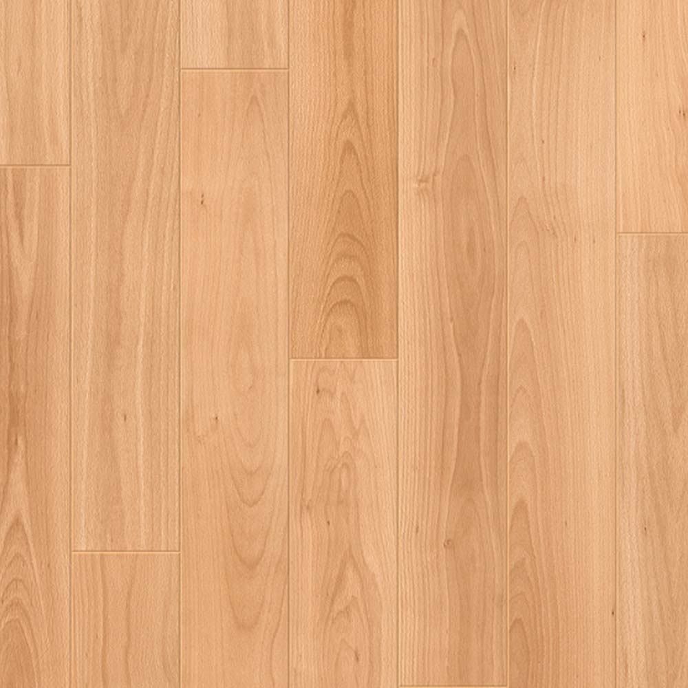 Quick step perspective varnished beech planks 4 groove uf866 for Quick step laminate flooring reviews uk
