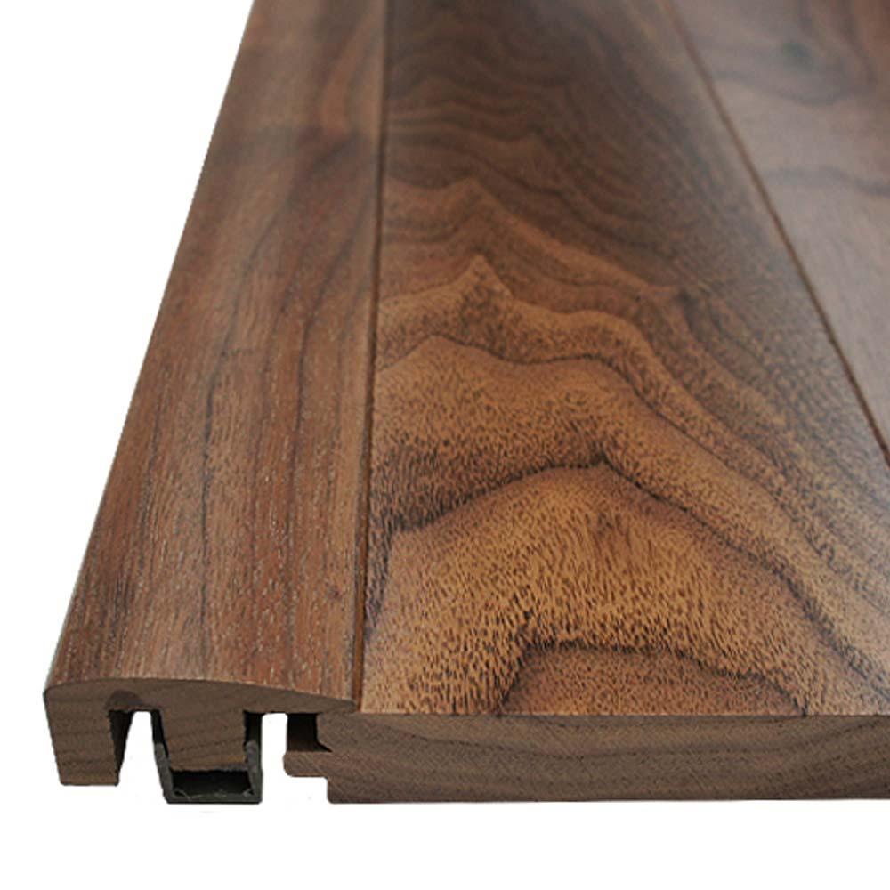 Walnut End Cap Door Bar Threshold Pre Finished Wood Access
