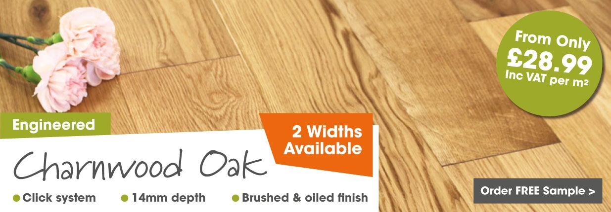 Engineered Charnwood Oak Flooring
