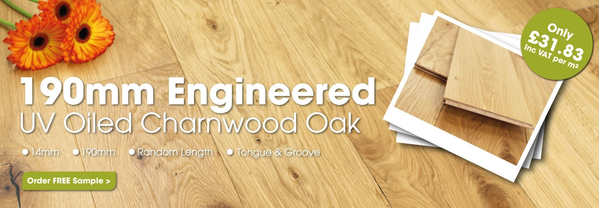 190mm Engineered Oak Flooring