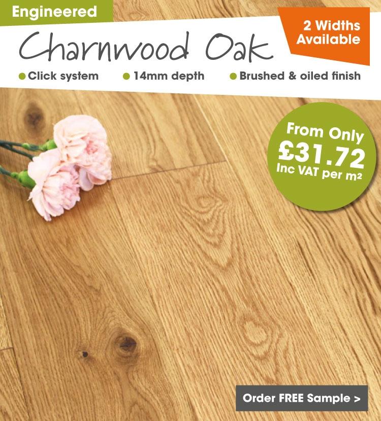 Engineered Charnwood Oak Flooring