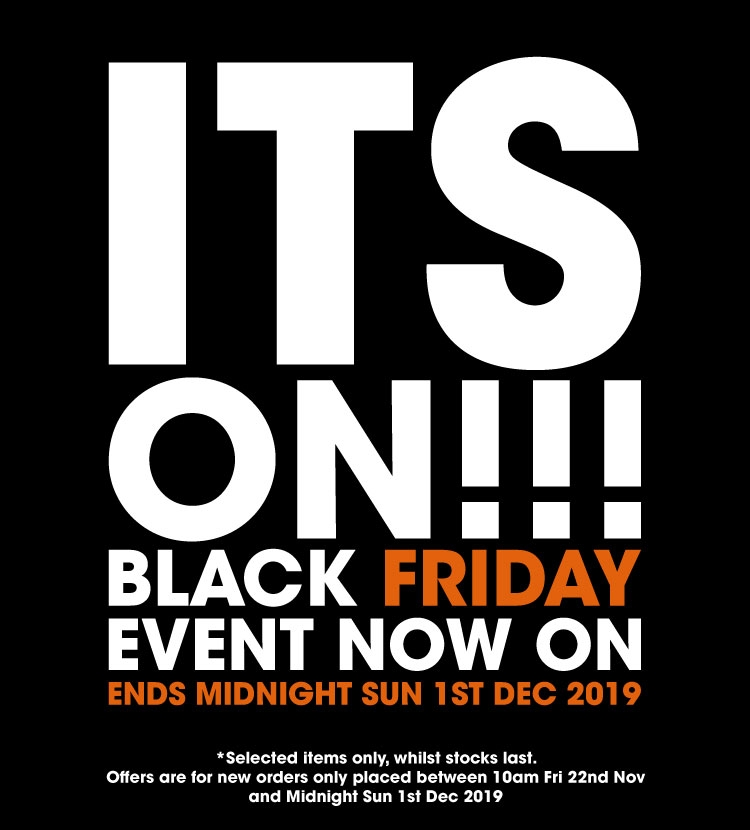 Its On!!! Black Friday Event Now On