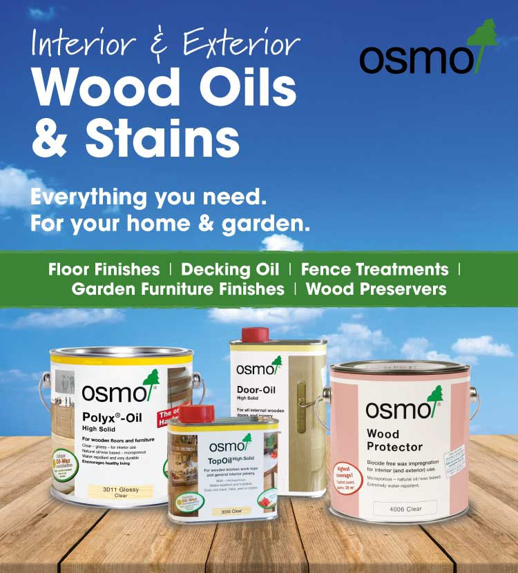 Osmo wood oil and wood stain