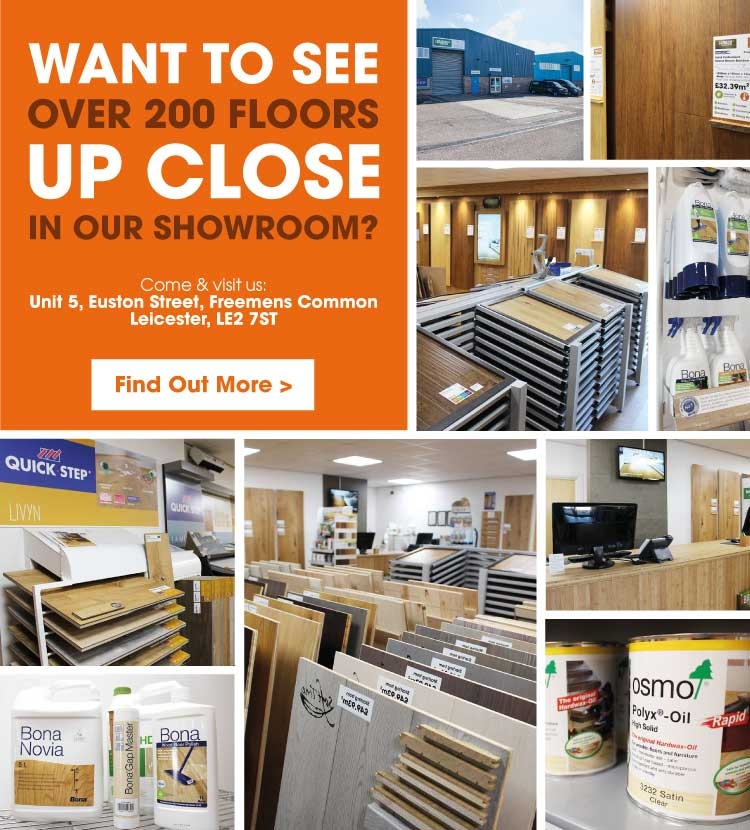 Come and visit our Leicester showroom
