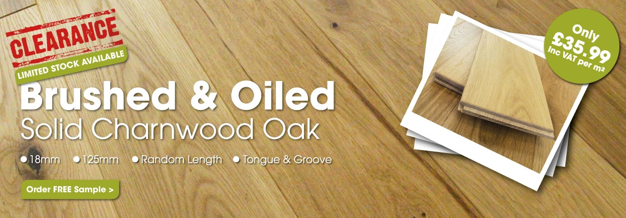 Solid Charnwood Oak - Limited Stock Available