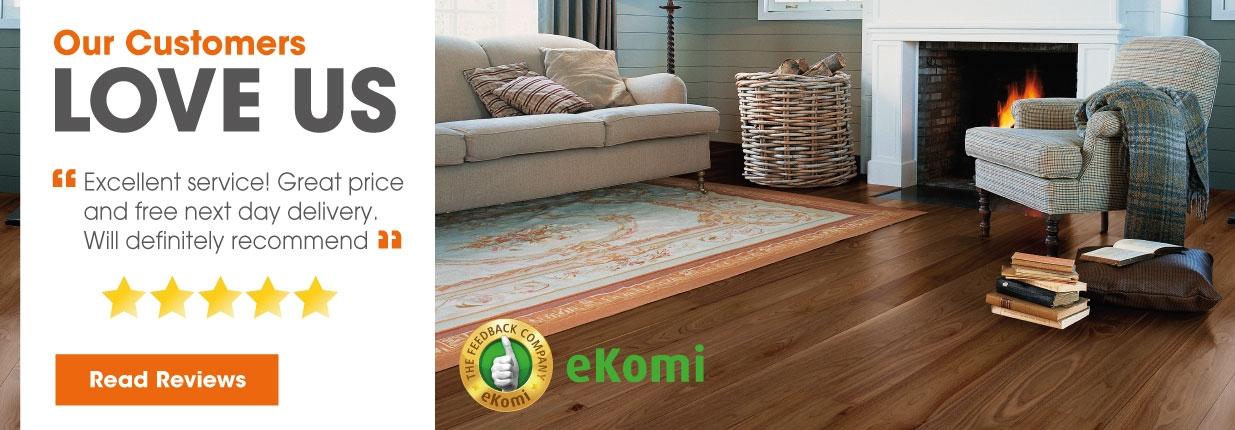 eKomi Customer Reviews