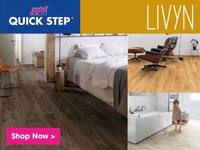 Quick-step Livyn vinyl flooring
