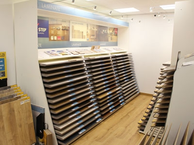 Quickstep display stand Leicester