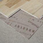 How to fit wood flooring onto chipboard
