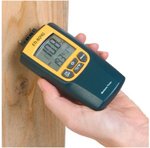 How to fit wood flooring onto chipboard - moisture meter