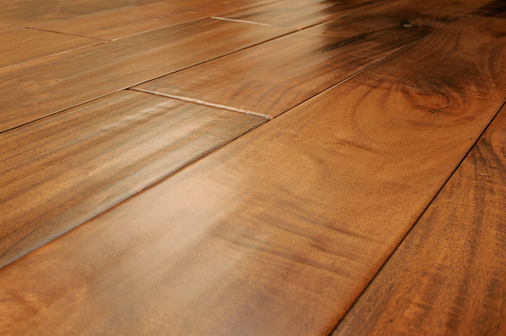 Why does my hardwood floor have gaps between the planks for My floor